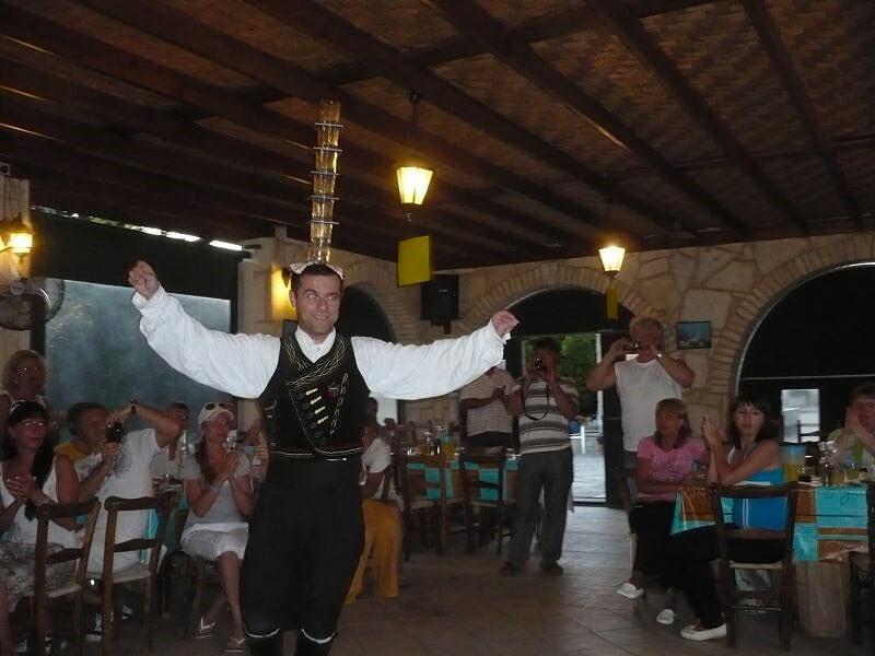 cyprus night cuisine taverna bus trip luxcy services cyprus sotira ayia napa protaras
