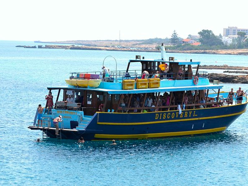 discovery boat trip ayia napa cyprus luxcy services