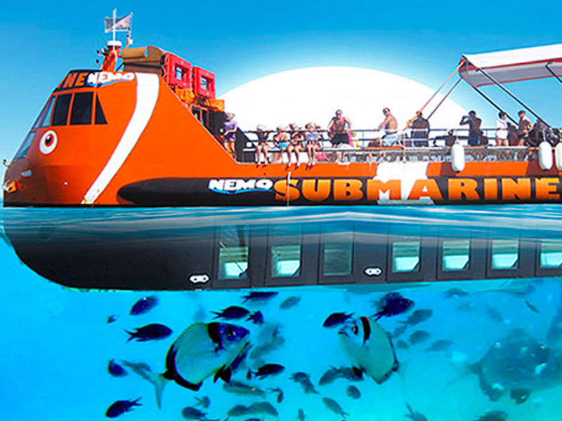 family boat trip nemo submarine ayia napa cyprus luxcy services