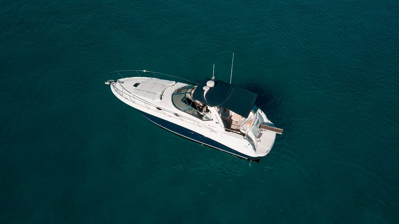 sea ray 375 luxury yacht vip ayia napa protaras cyprus luxcy services