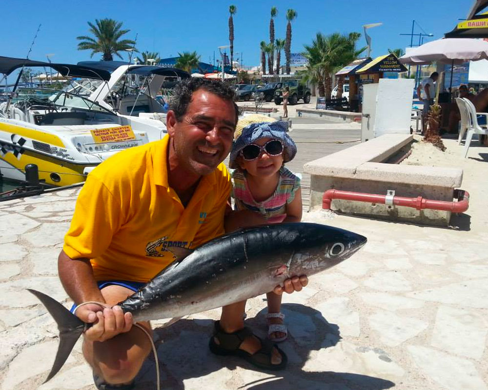 sport fishing ayia napa protaras cyprus luxcy services cyprus